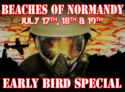 beaches of normandy early bird special