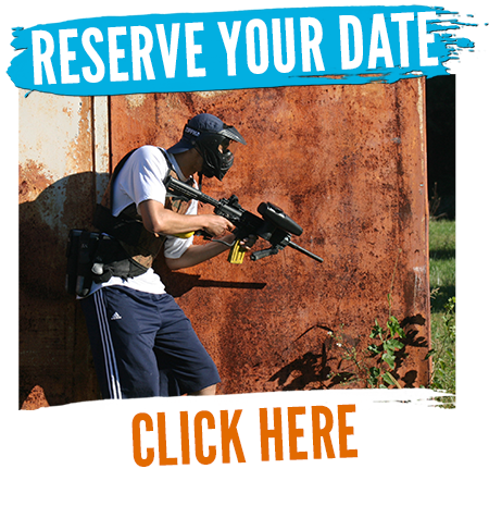 reserve your paintball party date