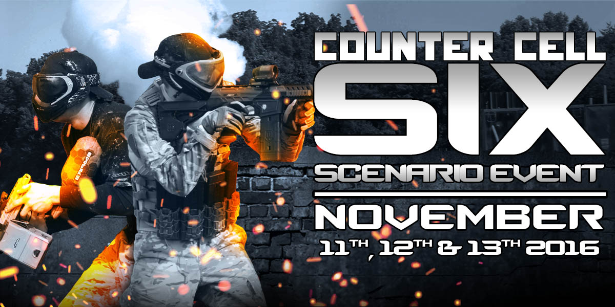 counter cell six paintball scenario event