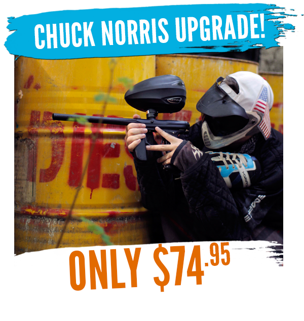 chuck norris rental upgrade