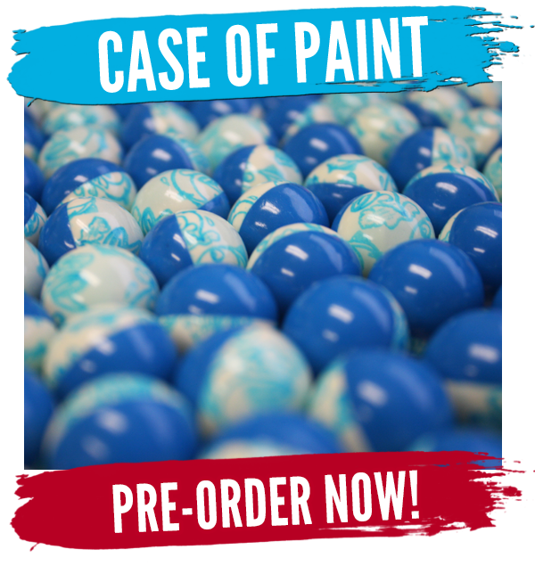 Pre-Order a case of paintballs now