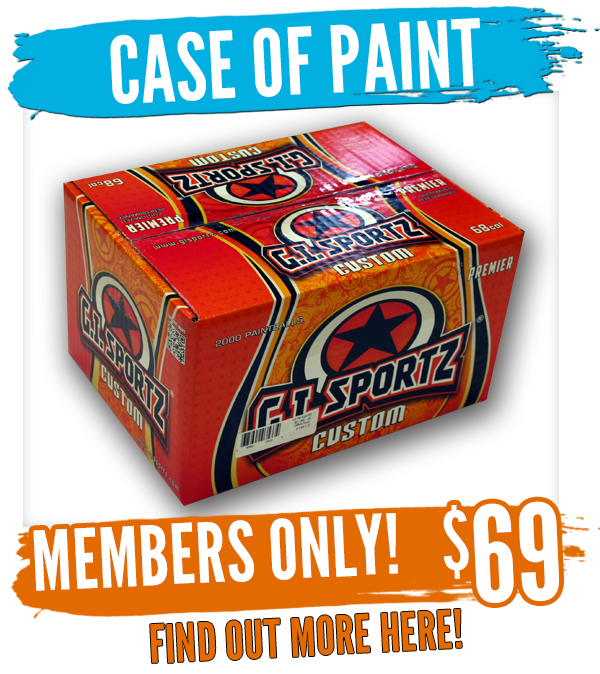 members only case of paintballs