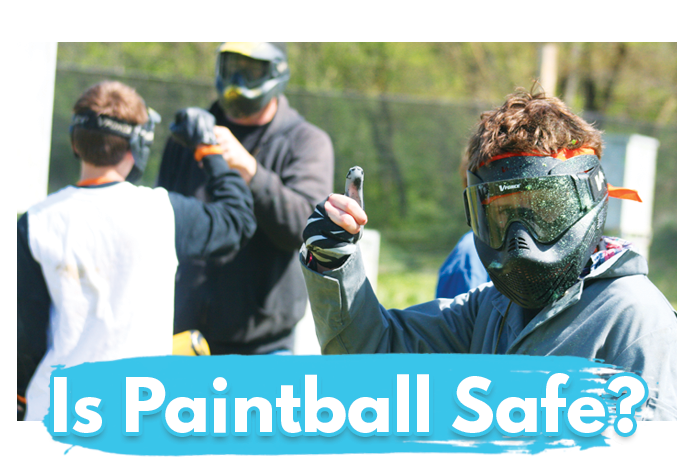 White River Paintball - Is Paintball Safe for Kids?