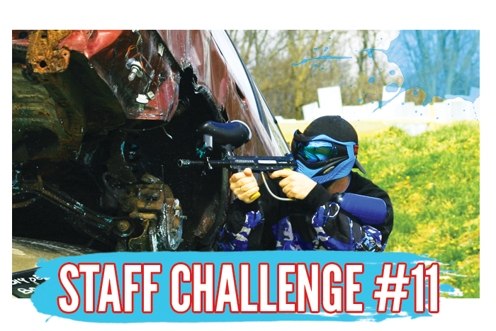 White River Paintball - Challenge the Staff - Benjamin vs. Austin