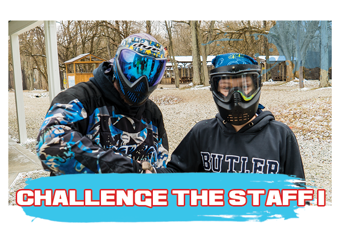 White River Paintball - Challenge the Staff - Brad vs. Gunnar