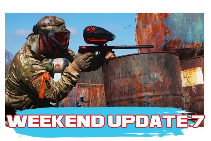 White River Paintball - White River Paintball Action Update Mar. 7th