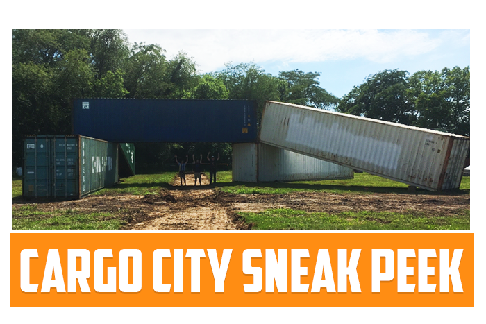 White River Paintball - White River Paintball's CARGO CITY SNEAK PEEK!